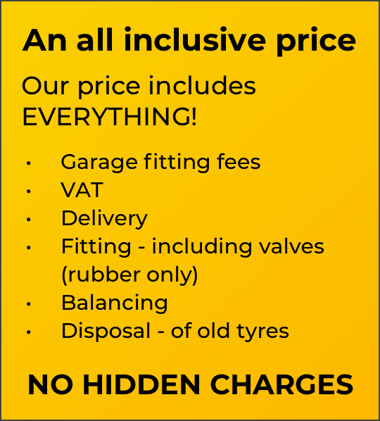 All inclusive price