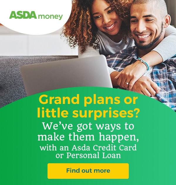 Asda Money Cashback banner
