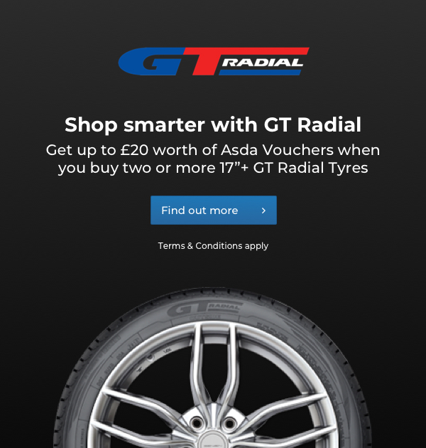 GT Radial Asda Voucher