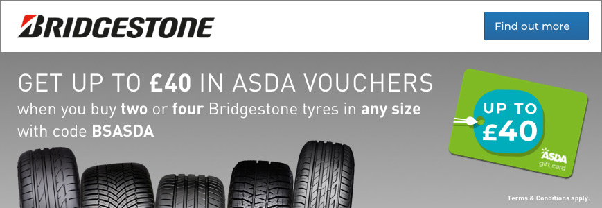 Bridgestone Asda Gift Cards