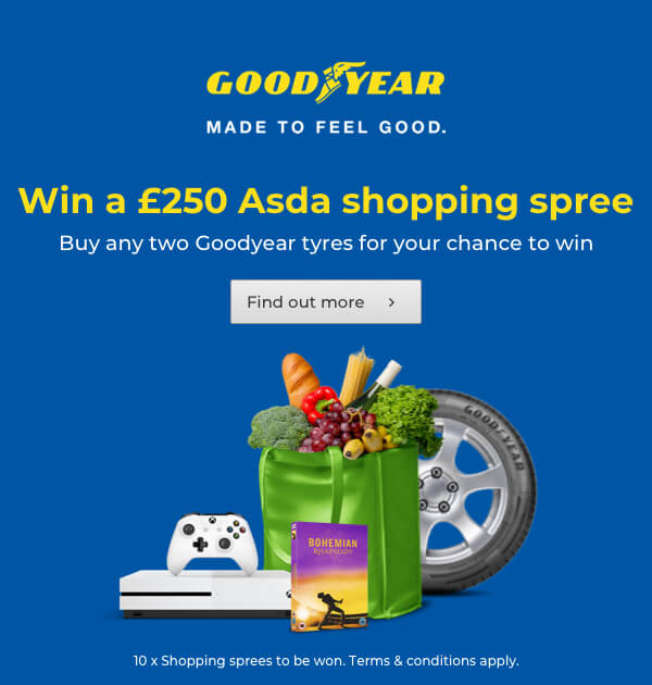Goodyear Asda Shopping Spree