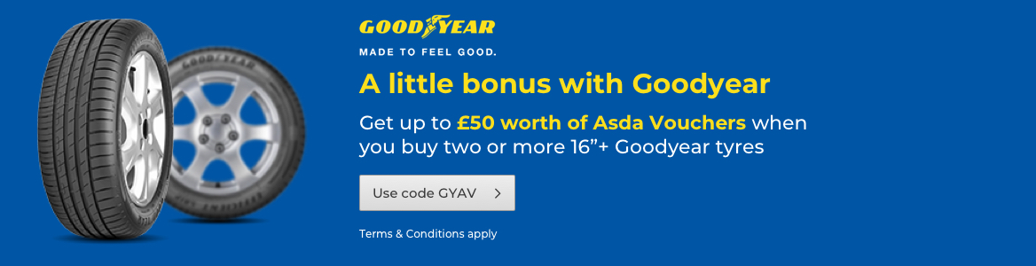 Goodyear Asda Vouchers