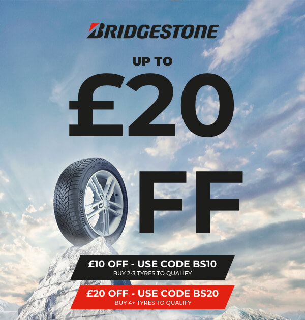 Bridgestone £10 Off