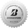 Bridgestone award badge