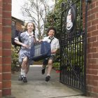 Children ready for school - We recommend that you check your tyres