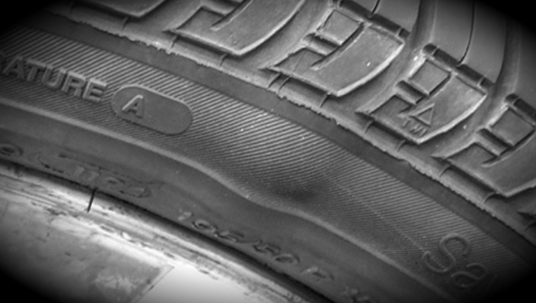 Damaged tyres are dangerous. Learn to spot the signs.
