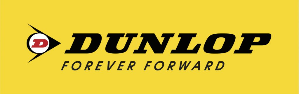 The Dunlop Forever Forward Logo